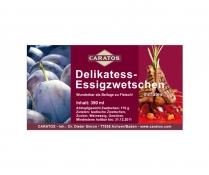 Delikatess-Essigzwetschen by Caratos