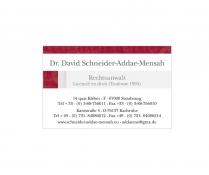 Dr. Schneider-Addae-Mensah