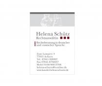 Kanzlei Helena Schütz