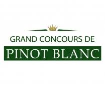 Grand concours de Pinot Blanc