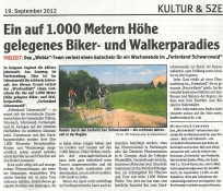 Wochen-Blatt, Bruchsal, 19.09.2012
