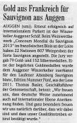 Badische Zeitung, Markgräfler Land, 31.05.2013