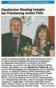 Acher-Rench-Zeitung, Oberkirch, 12.07.2013