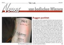 Wein & mehr, Herbst 2013